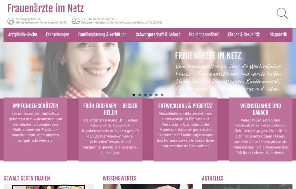Vorschau von www.frauenaerzte-im-netz.de, Vulvakrebs