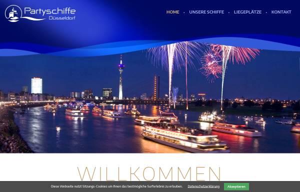 Vorschau von www.partyschiffe.com, Immobilien Schiffe Dienstleistungen GmbH