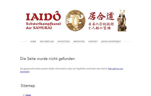 Vorschau von www.iaidokai.de, Iaidokai