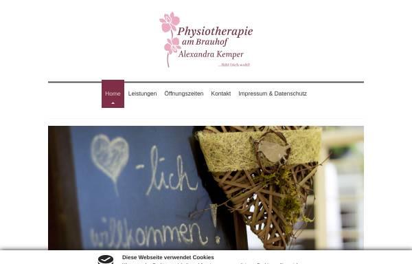 Vorschau von www.physiotherapie-apolda.de, Physiotherapie am Brauhof