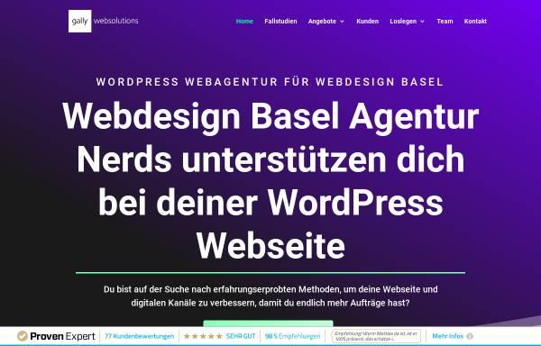 Vorschau von www.gally-websolutions.com, Gally Websolutions GmbH