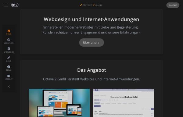 Vorschau von www.octave2media.ch, Octave 2