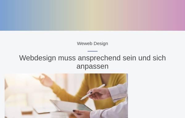 Vorschau von www.weweb.ch, Weweb design