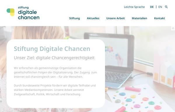 Vorschau von www.digitale-chancen.de, Netzwerk Digitale Chancen