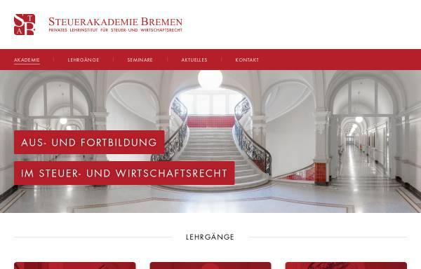 Vorschau von www.steuerakademie-bremen.de, Steuerakademie Bremen