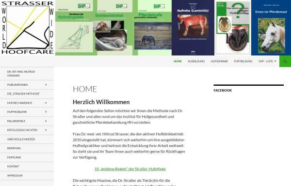 Vorschau von www.hufklinik.de, Hufklinik Dr. Hiltrud Straßer