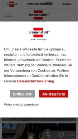 Vorschau der mobilen Webseite www.brennenstuhl.de, Hugo Brennenstuhl GmbH & Co. KG