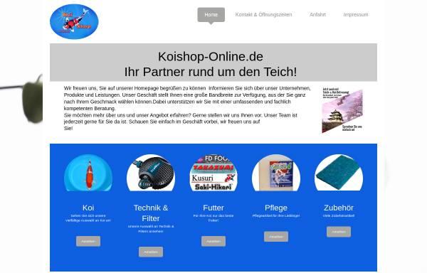 Vorschau von www.koishop-online.de, Koishop-Online