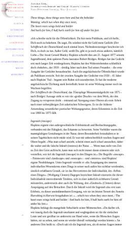 Vorschau der mobilen Webseite www.zikaden.de, Ingestalt und Inkraft bei Gerard Manley Hopkins