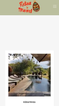Vorschau der mobilen Webseite www.relax-n-travel.de, Relax`n Travel