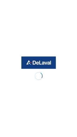 Vorschau der mobilen Webseite www.delaval.com, DeLaval GmbH