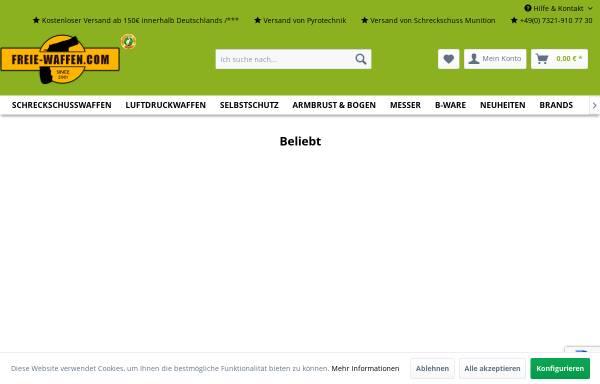Vorschau von www.freie-waffen.com, Freie-Waffen