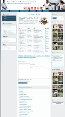 Vorschau der mobilen Webseite www.bushido-lubwart.de, Bushido Lubwart Bad Liebenwerda e.V.