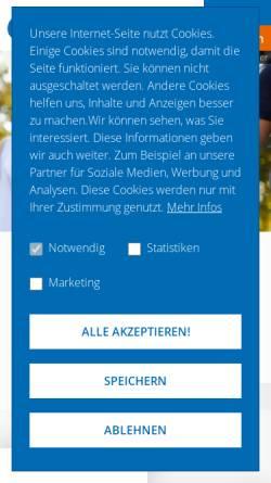 Vorschau der mobilen Webseite www.lebenshilfe.de, Bundesvereinigung Lebenshilfe für Menschen mit geistiger Behinderung