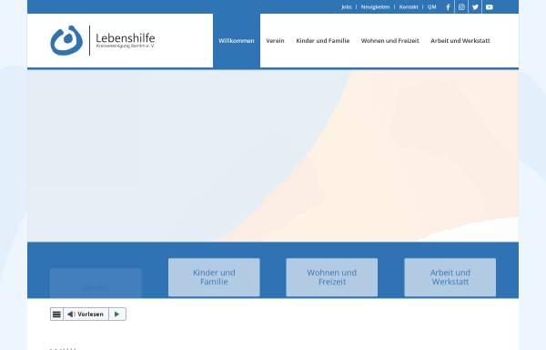 Vorschau von www.lebenshilfe-barnim.de, Lebenshilfe Kreisvereinigung Barnim e.V.