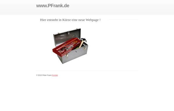 Vorschau von www.pfrank.de, Frank, Peter