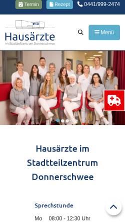 Vorschau der mobilen Webseite www.dr-nuestedt.de, Nüstedt, Dr. med. Volker