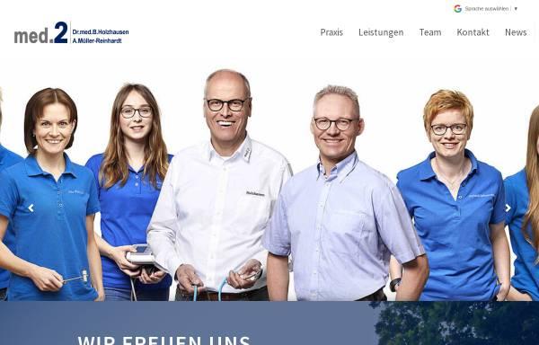 Vorschau von www.med-2.de, Holzhausen, Dr. med. Burkhard