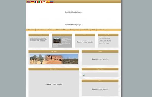 Vorschau von www.arkno.com, Arkno Tours
