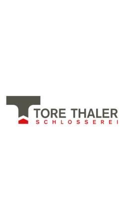 Vorschau der mobilen Webseite www.schlosserei-thaler.it, Schlosserei Thaler