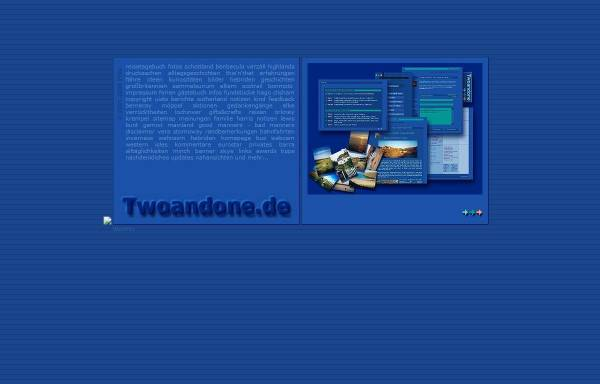 Vorschau von www.twoandone.de, Twoandone.de