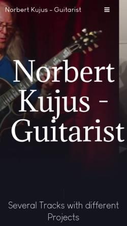 Vorschau der mobilen Webseite norbert-kujus.de, Kujus, Norbert