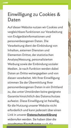 Vorschau der mobilen Webseite www.studienkreis.at, Studienkreis
