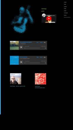 Vorschau der mobilen Webseite www.audiosemantics.de, Rupp, Olaf