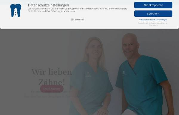 Vorschau von www.zahnarzt-dr-hansen.de, Dr. med. dent. Marc Hansen, Zahnarzt und Fachzahnarzt für Oralchirurgie