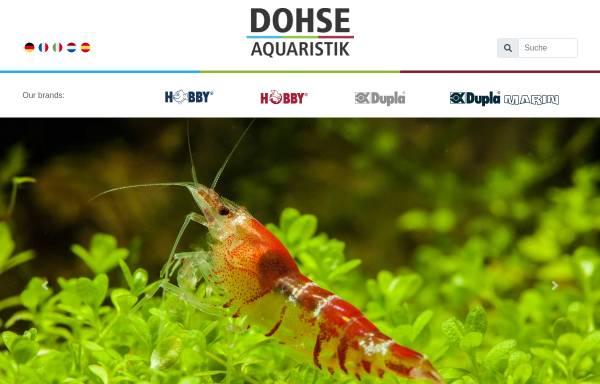 Vorschau von www.dohse-aquaristik.de, Dohse Aquaristik KG