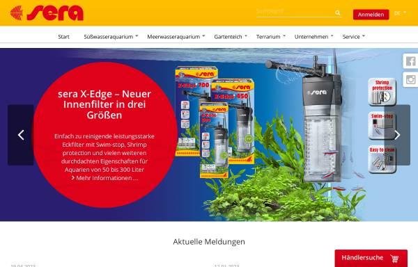 Vorschau von www.sera.de, Sera GmbH