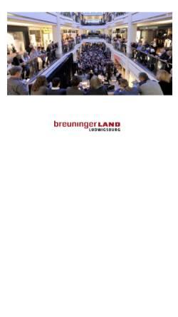 Vorschau der mobilen Webseite www.breuningerlandkultur.de, Jazz On A Sunday