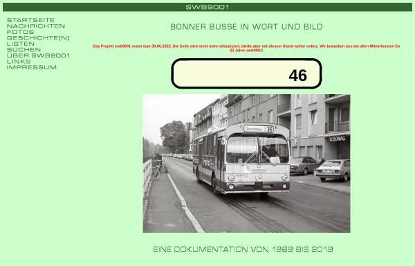 Vorschau von www.busse-in-bonn.de, SWB9001 - Busse in Bonn