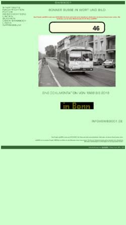 Vorschau der mobilen Webseite www.busse-in-bonn.de, SWB9001 - Busse in Bonn