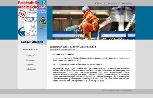 Vorschau von www.sifa-mt.de, Arbeitsschutz Ludger Schubert