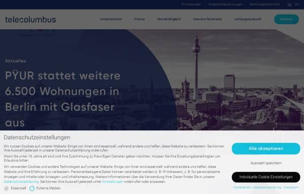 Vorschau von www.kcr-online.de, Kabelcom Rheinhessen GmbH
