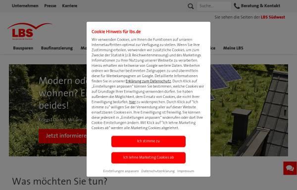 Vorschau von www.lbs-rlp.de, LBS Rheinland-Pfalz