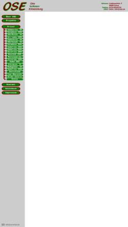Vorschau der mobilen Webseite www.ose-erfurt.de, Radtour von Frankfurt a. Main nach Erfurt