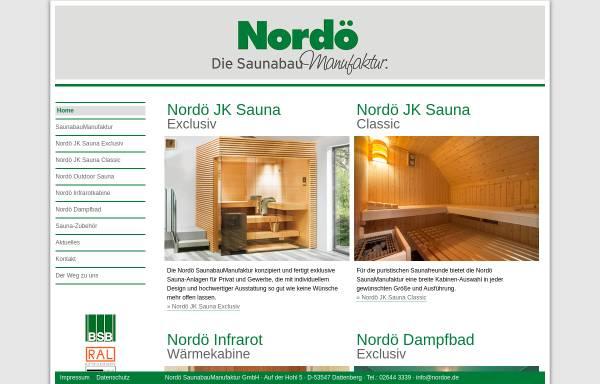 Vorschau von www.nordoe.de, Nordö GmbH