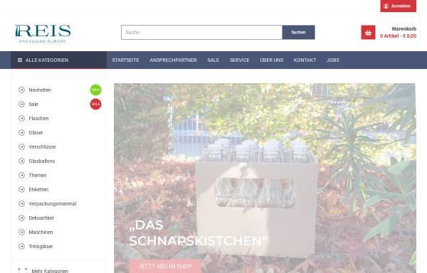Vorschau von www.flaschen.de, Reis Flaschengroßhandel GmbH