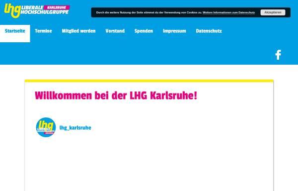 Vorschau von lhg-bw.de, LHG - Liberale Hochschulgruppe Karlsruhe
