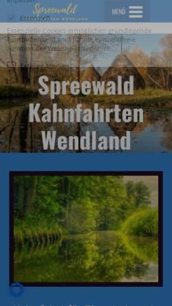 Vorschau der mobilen Webseite www.kahnfahrt.de, Kahnfahrt.de