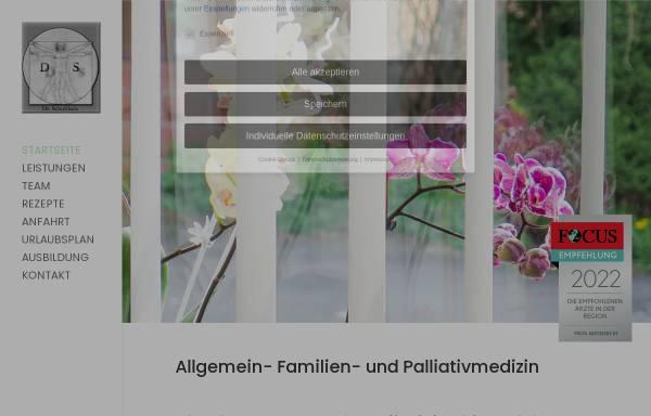 Vorschau von www.dr-schultheis.de, Dr. med. Dietmar Schultheis Birstein