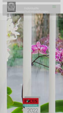 Vorschau der mobilen Webseite www.dr-schultheis.de, Dr. med. Dietmar Schultheis Birstein