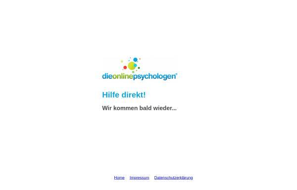 Vorschau von www.dieonlinepsychologen.de, Dieonlinepsychologen