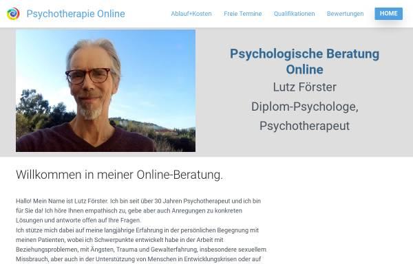 Vorschau von www.foerster-online-praxis.de, Förster, Lutz