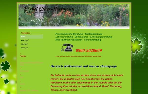 Vorschau von baerbel-hartmann.beepworld.de, Hartmann, Bärbel