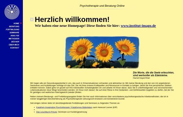 Vorschau von www.psychotherapie-beratung.de, Kästele, Dr. Gina
