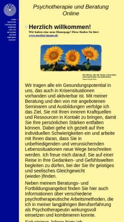 Vorschau der mobilen Webseite www.psychotherapie-beratung.de, Kästele, Dr. Gina