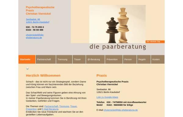 Vorschau von die-eheberatung.de, Viernickel, Christian